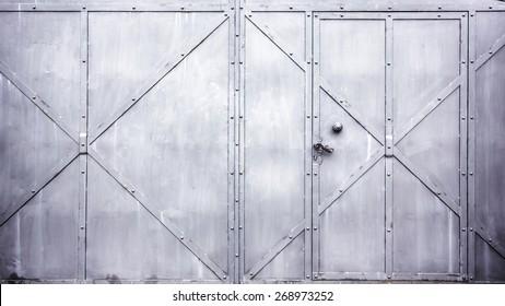 Metal door gate texture. & Metal Door Images Stock Photos \u0026 Vectors | Shutterstock