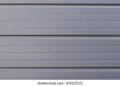 metal door horizontal