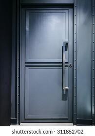 Metal door Safety zone lock system