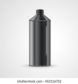 metal drink can isolated on white background. 3D illustration.
