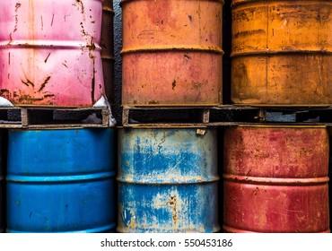 Metal drum barrels
