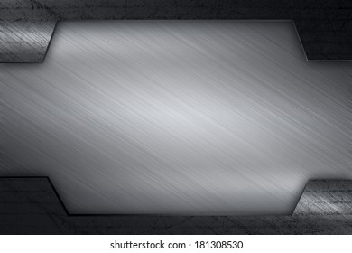 metal flame background