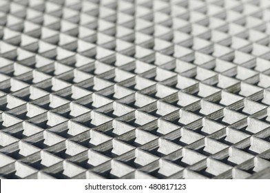 Metal floor grating for background; Metal products; Industrial flooring