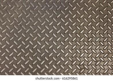 Metal floor texture background