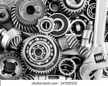 metal gears and bearings