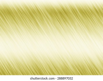 Metal gold background or texture of brushed steel plate with reflections Iron plate and shiny