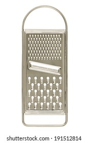 metal grater isolated on white