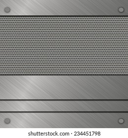metal grill template
