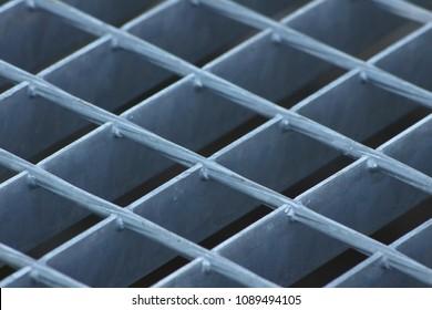 Metal grille detail