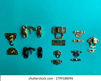 metal jewelry box hasp latch