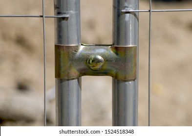 a metal joint for metal bars of a street fence