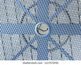 Metal Net with a Hole in a Middle