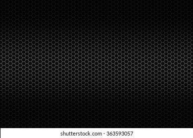 Metal octagon grid background
