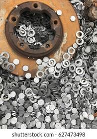 metal parts pattern