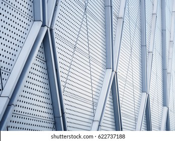 Metal Pattern Architecture details Facade Metal Geometric Structure