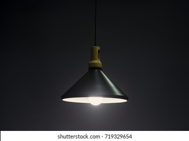 Metal Pendant light lamp illuminated, Elegant Chandelier illuminated