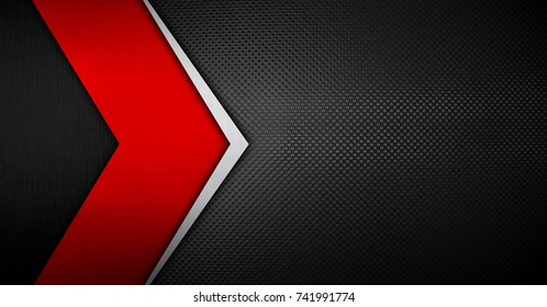 metal plate with arrow pattern background