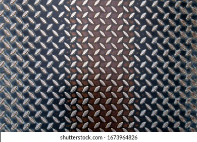 metal plate with graphic texture