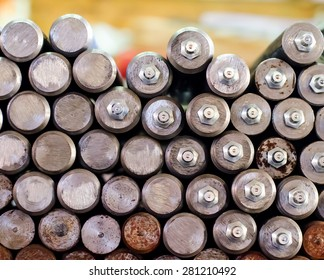 Metal Rods Background