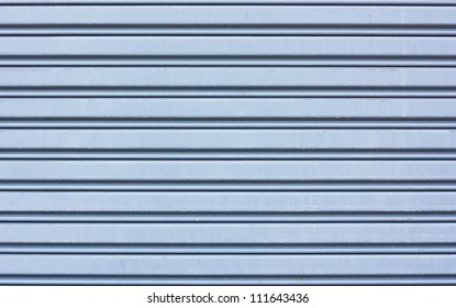 metal roller shutter use as background or textures