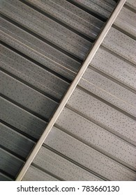 metal roof surface abstract background