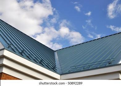 Metal Roof Valley