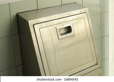 Metal Rubbish disposal chute