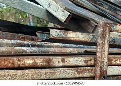 Metal and Rust background
