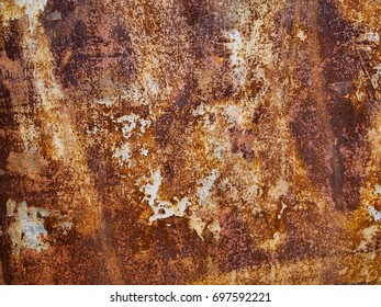 Metal rust texture, abstract grunge background