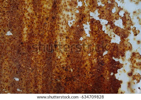 metal rust weathered messy scratched corrosion background