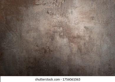 Metal rostige Textur Hintergrund Roststahl. Industrielle Metallstruktur. farbige, rostfreie Metallstruktur, rosafarbener Hintergrund