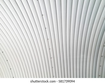 Metal sheet roof for warehouse