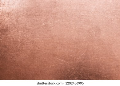 Metal sheet stripped, texture of copper old plate