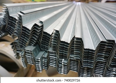 The metal sheet through cold rolling forming increase strength.