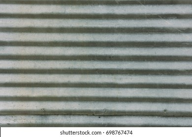 Metal Siding of Old building