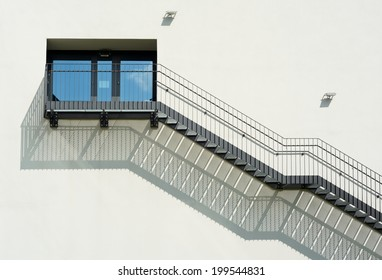 Metal Stairs as an Contemporary Architectural Element
