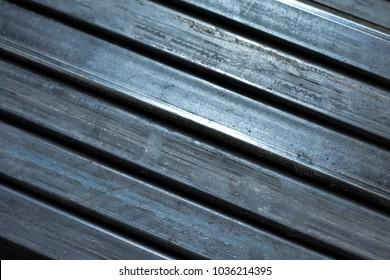 Metal Steel cut 45 degrees