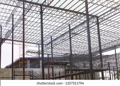 Metal steel frame buildings construction design
