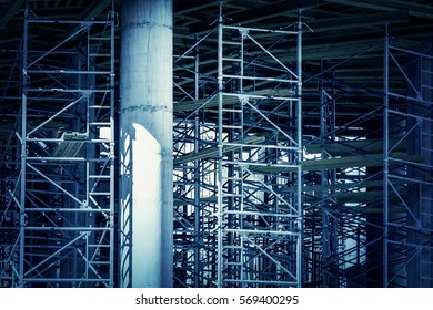 Metal structure, background