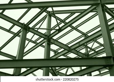 Metal structures.
