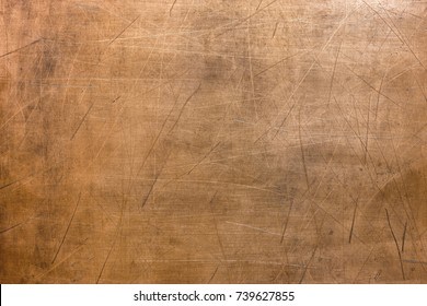 Metal surface background, old texture  bronze plate