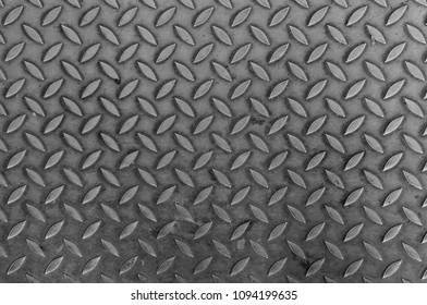Metal surface diamond texture. Used and dirty surface. Anti-slip design.