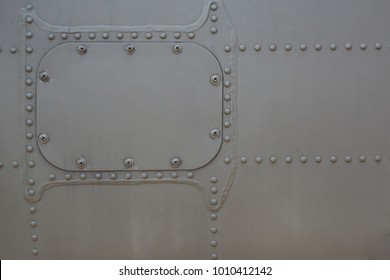 Metal surface of military Armored
