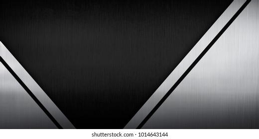 metal template with v design background