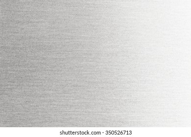 Metal texture background. Macro photo of brushed aluminum.