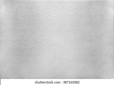 Metal texture background. Macro photo of brushed aluminium.