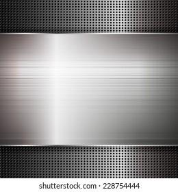 Metal texture. Illustration