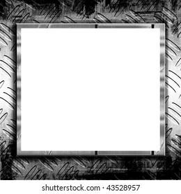 Metal Texture Template Design