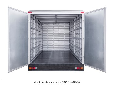 metal trailer interior