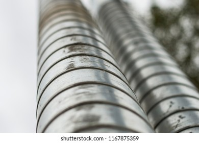 metal tube water texture wrapping